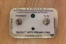 TRUTH AMP - HD UHF VHF HDTV Digital TV Antenna Signal Booster Amplifier
