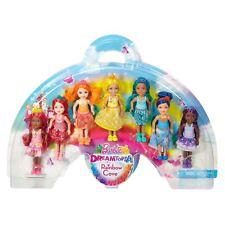 Muñeca Barbie dreamtopia Arco Iris Cove Chelsea Conjunto de Regalo - 7 Muñecas Conjunto de Regalo Nuevo