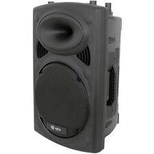 QTX Sound qr12k Corriente Activa 300w vatios 30.5cm Moldeado ALTAVOZ PA qrk