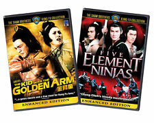 Five Element Ninjas/The Kid With the Golden Arm Media Blasters with Sleep Cases