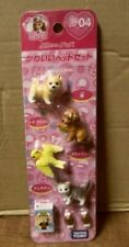 Licca Doll Pet Mini Figure Set Takara Tomy Japan Licca-Chan Dog Cat Bird RARE