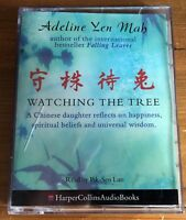 AUDIO BOOK Adeline Yen Mah WATCHING THE TREE on 2 cass read by Pik-Sen Lim