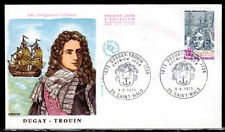 FRANCE FDC - 852 1748 2 NAVIGATEUR DUGUAY TROUIN 9 6 1973