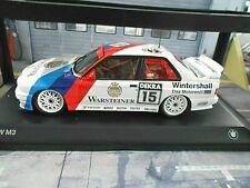 BMW M3 E30 EVO DTM #15 Ravaglia Champion 1989 Warsteiner Scaled Minichamps 1:18