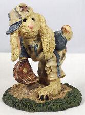 Boyds Bearstone Figurine, Lefty – On The Mound, #2253, New
