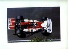 Niki Lauda BRM P160E Monaco Grand Prix 1973 Signed Photograph