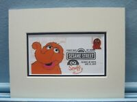 Jim Henson's Muppets & Sesame Street & First Day Cover of the Snuffy stamp