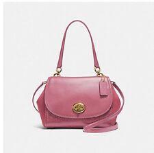 NWT- Coach F22348 Faye Carryall Satchel Rouge Pink Shoulder Bag Crossbody $495