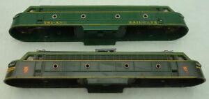 TRIANG TRANSCONTINENTAL GREEN ELECTRIC LOCOMOTIVE SCRAPBOX