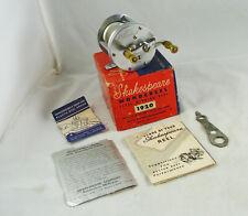 New listing Old Vintage SHAKESPEARE WONDEREEL No. 1920 Model GA Casting Reel + Box + Extras