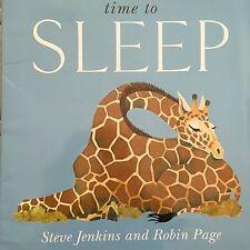 Teacher Big Book TIME TO SLEEP Kindergarten 1st Oversized