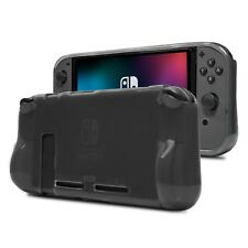 Orzly Comfort Grip Case for Nintendo Switch - Smoke