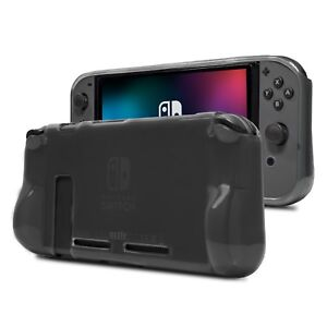 Nintendo Switch Comfort Grip Case in Smoke by Orzly