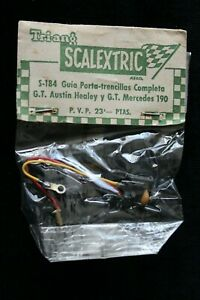 TRIANG /SCALEXTRIC S-184 PICK-UP BRAID & GUIDE
