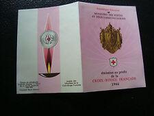 FRANCIA carnet cruz roja 1966 sello n espalda 2eme choixcy30stamp french