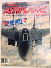 Model Airplane News Magazine F-14 Kavan FK-50 Mark II August 1986 041517nonrh