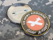 BADGE *** GLIDER ARTILLERY - ww2 normandy US paratroops JEEP planeur WACO HORSA