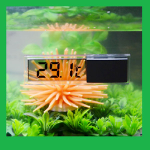 LCD Digital Waterproof Fish Aquarium Meter Water Tank Temperature Thermometer UK