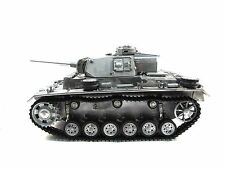 Complete Metal 1/16 Mato Panzer III RTR Ver BB Pellet RC Tank Metal Color 1223