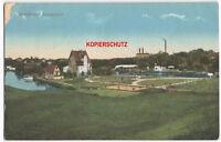 AK Postkarte Gruss aus Berlin Spandau Pichelsdorf Ansichtskarte 1915 Panorama