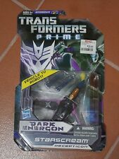 TRANSFORMERS PRIME DARK ENERGON STARSCREAM DELUXE MOSC MOC MISB SEALED NEW