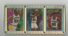 DAVID ROBINSON THE ADMIRAL SAN ANTONIO SPURS FLAIR TOPPS FINEST SET OF 3 NM-MINT