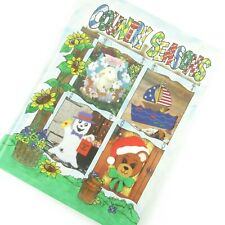 Country Seasons Plastic Canvas Patterns Christmas Halloween Easter HC Book