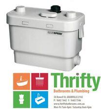 Saniflo SANISPEED COMMERCIAL GREY WATER PUMP SA101 240V 400hp 120L/Min Max Flow
