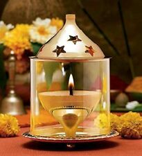 Diwali Deepak Gift Oil Lamp  Brass  (Medium)