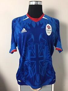 Team GB Olympic Home Football Shirt Jersey 2011 (L)