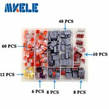 144PCS Wire Connector for 4 room mixed 7 models Mini Terminal Block In Box