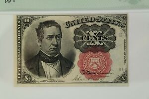 10 Cent Fifth Issue Fractional Currency Fr#1266 PMG MS 63 EPQ