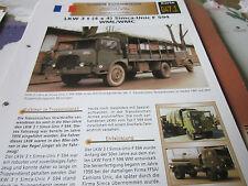 Archiv Militärfahrzeuge Schwere Rad Kfz 47.1 Simca Unic F 594 WML/WMC Frankreich