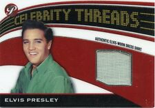 2005 TOPPS CELEBRITY THREADS ELVIS PRESLEY WORN DRESS SHIRT