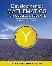 Developmental Mathematics for College Students (Available Titles CengageNOW), Tu