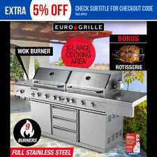 Stainless Steel Freestanding Grill BBQs