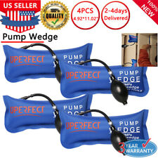 4X Air Pump Up Wedge Bigger Inflatable Bags Automotive Tool Entry Shim Hand Tool