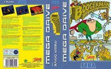 Boogerman Sega Mega Inserto de Arte de reemplazo de la UE cuadro de reemplazo para