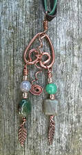Copper Agate Pendants Jewellery