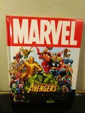 Marvel The Ultimate Characters Guide Avengers ~ 1st Ed Hardback~
