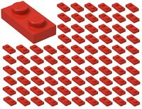NEW!!! Lego Red Plate 1x2 20 pieces 3023