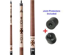 Viper Desperado IRON CROSS 50-1006 Pool Cue Stick 18-21 oz. & Joint Protectors