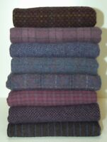 "HAND DYED RUG HOOKING WOOL Mill-Dyed ~ ""SHOWER ME PURPLES"" (8-pc. Combo)"