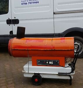 EC40 Arcotherm Indirect Diesel marquee warehouse portable heater