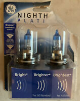 GE Lighting 9005NHP/BP2 Nighthawk Platinum High-Beam Headlight Bulbs, 2-Pack
