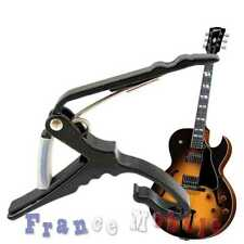 Capodastre Noir capo à pince guitare acoustique folk classique électrique Guitar
