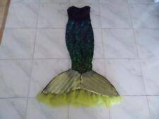 Mermaid Costume and Wig - Womens Size Adult Small - Sea Costume Mermaid Ariel