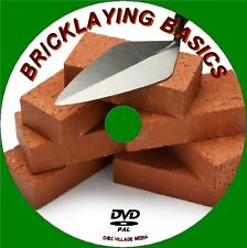 BRICKLAYING BASIC EASY 2 FOLLOW GUIDE FOR BEGINNERS DVD NEW LEARN TO LAY BRICKS