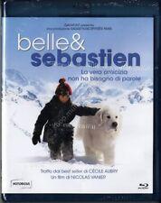 BELLE & E SEBASTIEN (film 2013) BLU RAY DISC NUOVO