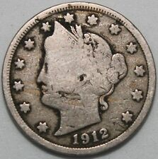 More details for 1912 | u.s.a. liberty nickel 5 cents | cupro-nickel | coins | km coins